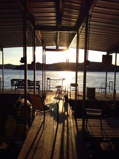 Fishing Dock at Lake of the Ozarks