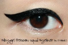 Silkygirl Precision Liquid Eyeliner - One of my favourite liquid eyeliners