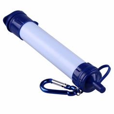 Portable Emergency Hydration Straw - Drinking Water Filter Purifier - Emergency Survival Kit
