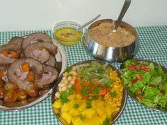 Piteis da Dinha: Carne Assada (PEITO BOVINO) RECHEADA COM Linguiça ...