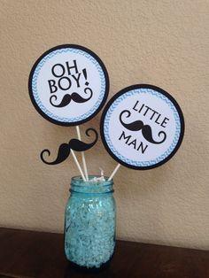Mustache Birthday Party Decoations  Little Man by DoItAllDiva