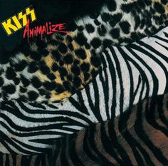 USED VINYL RECORD 12 inch 33 rpm vinyl LP Released in Animalize is the twelfth studio album by American hard rock band Kiss. The album marked the only appearance by lead guitarist Mark St. Peter Criss, Paul Stanley, Glam Metal, Gene Simmons, Rock Roll, Iron Maiden, Hard Rock, Kiss Album Covers, Beatles