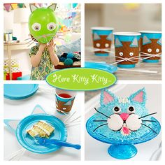 Cat Themed Birthday Party