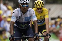 Tour de France 2015: Stage 17 Nairo Quintana finishes stage 17 ahead of Chris Froome but both have same time.
