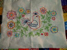 Esme Kenney Memorial Quilt Block by WonderlandShoppe, via Flickr