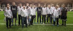 El Real Madrid visitó la Academia Ferenc Puskas