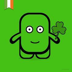 St Patrick's Day / Dia de Sant Patrici / Día de San Patricio /#stpatricksday #stpatricks #stpatricksday2015 #Ireland #illustration #vector #artist #draw #drawing #designer #design #graphicdesign #graphics #disseny #dissenygràfic #dessin #cute #sticker #doodle #funny #monster #sketch #Itsdesign