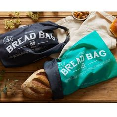 What makes our Reusable Bread Bag so good?ONYA reusable Bread Bag is made from up to recycled plastic drink bottles and is designed to replace single use paper or plastic bread bags, plastic toggles and ties.They are also perfect to u.