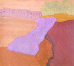 Shapes of Spring Milton Avery - 1952 Mark Rothko, Robert Rauschenberg, Helen Frankenthaler, Henri Matisse, 2d Art, Abstract Landscape, Abstract Painters, American Artists, Abstract Expressionism