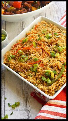 Veg fried rice. #friedrice #vegetarian #indochinese @aromaticessence