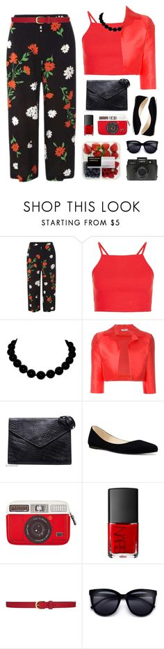 """""""Untitled #2290"""" by countrycousin ❤ liked on Polyvore featuring Dorothy Perkins, P.A.R.O.S.H., Fendi, Nine West, Woouf!, NARS Cosmetics, Dickins & Jones and Holga"""