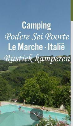 Een kleinschalige ruim opgezette familie camping met zeer ruime plaatsen, in le Marche met Nederelandse eigenaren