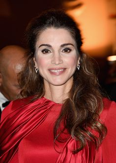Queen Rania of Jordan attend the Celebrity Fight Night gala at Palazzo Vecchio as part of Celebrity Fight Night Italy.