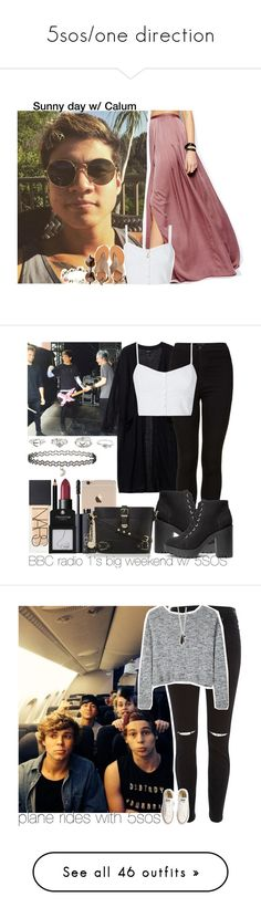 """5sos/one direction"" by bryanieleigh27 ❤ liked on Polyvore featuring ASOS, Accessorize, Cocobelle, Minor Obsessions, 5sos, calumhood, 5secondsofsummer, 5sosoutfits, Monki and Topshop"