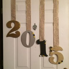 Door Decor | DIY New Years Eve Party Ideas | DIY New Years Eve Party Decorations