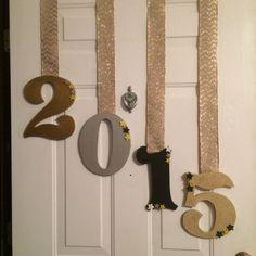 Door Decor | DIY New Years Eve Party Ideas | DIY New Years Eve Party Decorations