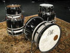Custom Drum Set from P. Vintage Drums, Snare Drum, Drum Kits, Drummers, Percussion, Musical Instruments, Engine, Funny, Room