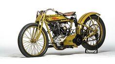 1925 Harley-Davidson Factory Racer presented as lot S109. #Mecum #EJCole #LasVegas
