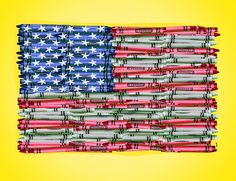 Happy 4th of July! Independence Day is Imagination Day!  Create patriotic decorations and crafts for the 4th of July!