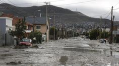 En fotos: así está Comodoro Rivadavia por las inundaciones  Comodoro Rivadavia, ciudad declarada zona de desastre. Barrio Juan XXIII. Foto: LA NACION / Ricardo Pristupluk