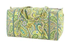 Vera Bradley Large Duffel in Lemon Parfait, $85.00  #verabradley #verabradleydesigns,inc.
