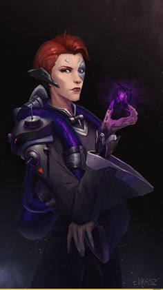 Moira (Overwatch),Overwatch,Blizzard,Blizzard Entertainment,фэндомы,Łukasz Starczewski