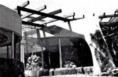 """Casa Cueva de la Época Atómica"", Sierra Leona 374, Lomas de Chapultepec, México DF 1948  Arq. Carlos Lazo"