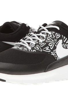 7f56f5305e Nike Kids Flex Experience 5 Print (Little Kid) (Black/White/Lava ...
