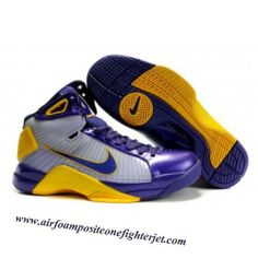 hot sale online 30c62 fd2cf Air Foamposite Nike Hyperdunk Kobe Lakers Varsity Purple Yellow  Nike  Hyperdunk Kobe - Classic colors enable the Nike Hyperdunk Kobe Lakers  Varsity Purple ...
