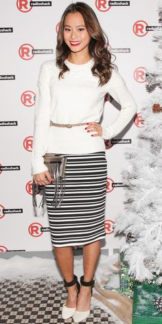 @Who What Wear - Jaime Chung Does Winter White Right