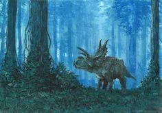Horns28: Xenoceratops by tuomaskoivurinne.deviantart.com on @deviantART