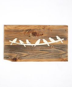 Another great find on #zulily! Reclaimed Rustic Bird Wall Decor by DelHutson Designs #zulilyfinds