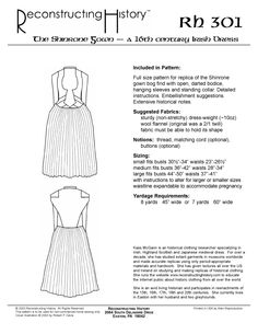 Shinrone Gown Bog - Irish Dress
