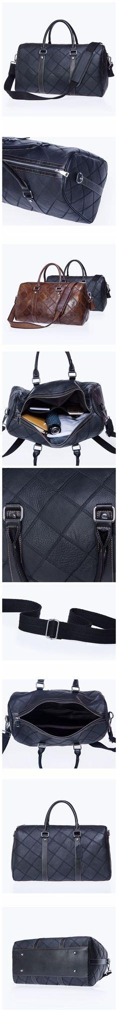 0d1b3075b74 Handmade Top Grain Gym Bag, weekender Duffel Bag, Leather Travel Bag, Luggage  Bag