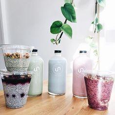 Where would you begin? Matcha latte, E3 live almond milk, strawberry milkshake…