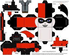 Harley Quinn Cubeecraft