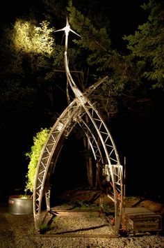 the sun curve- closed loop vertical aquaponic micro farm... grows plants vertically using water from its fish pond... #vertical #gardening #urbanzealplanters...