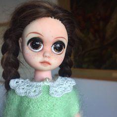 My customized Susie Sad Eyes #customdoll #LaDiDaDiDolls #susiesadeyes #susiesadeyesdoll