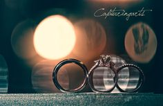 a lovely Bokeh effect with some side lighting to give the rings depth! Shot by Capturingarts