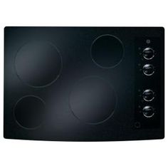 GE 30 in. Ceramic Glass Electric Cooktop in Black with 4 Elements including PowerBoil-JP336DDBB at The Home Depot