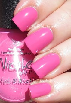 Nicole by OPI Tink Collection Swatches tinks in the pink