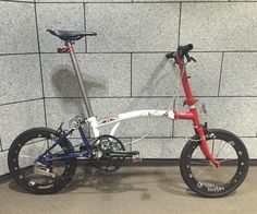 My Brompton④ #brompton #bro #ブロンプトン #minivelo #ミニベロ #山本 #brompton山本 #ブロンプトン山本 #カスタム #customize #foldingbike #折りたた自転車 #折り畳み自転車 #自転車 #自行車 #carbon #carbonrim #carbonwheel #軽量化