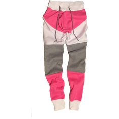 Rose Sweatpants A$ID Clothing found on Polyvore featuring polyvore, fashion, clothing, activewear, activewear pants, sweat pants, pink sweat pants and pink sweatpants