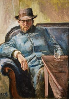 Edvard Munch - Portrait of Hans Jaeger, 1889 at National Museum of Art Oslo Norway