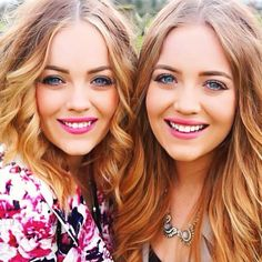 One of my favourite youtubers, Lucy and Lydia!
