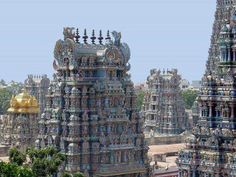 beautiful carved temples of tamilnadu