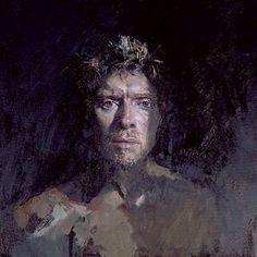 Galerie François Deneulin - Le peintre anglais Paul Abbott