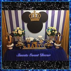 WOW YOUR GUESTS!!! ⚫️Prince Mickey Set Up⚫️ by:Sweets Event Decor (323) 868-1436 www.facebook.com/SweetsEventDecorPage  We can customize to any theme for any occasion. Book your event today & bring your event decor to life with Sweets Event Decor & WOW YOUR GUESTS!!! #SweetsEventDecor #mickeymouseparty #LosAngeles #WestLA #BalloonDecor #BalloonDecoration #EventDecor #WeddingDecor #EventPlanner #PartyPlanner #Party #BirthdayParty #SantaMonica #Calabasas #BeverlyHills #Balloons #Girl #BuzzFeed…