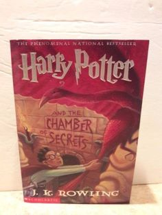 Harry Potter and the Chamber of Secrets book 2 J. K. Rowling Paperback book