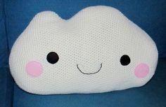 "Big Cloud pillow <3 Pattern in ""Amigurumi at Home: Crochet Playful Pillows, Rugs, Baskets, and More"" by Ana Paula Rimoli http://www.amazon.com/Amigurumi-Home-Crochet-Playful-Phllows/dp/1604684321/ref=sr_1_1?ie=UTF8&qid=1388024024&sr=8-1&keywords=amigurumi+at+home"